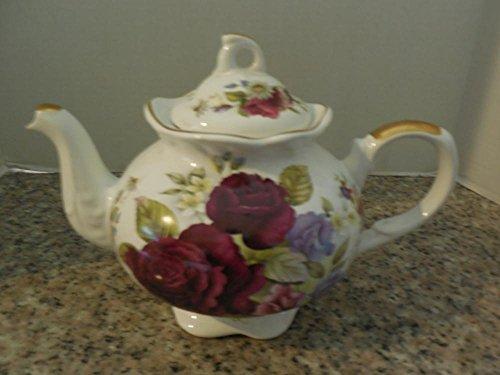 Elegant Arthur Wood Son,Teapot Floral Design #6471 Staffordshire England