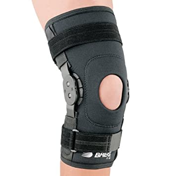 670b047aa8 Image Unavailable. Image not available for. Color: Breg ShortRunner Knee w/Adjustable  Horseshoe (Medium)