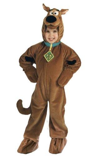 Scooby Doo Deluxe Plush - Scooby Doo Deluxe Unisex Child Costume (M)