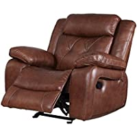 Belfast Motion Recliner in Light Brown