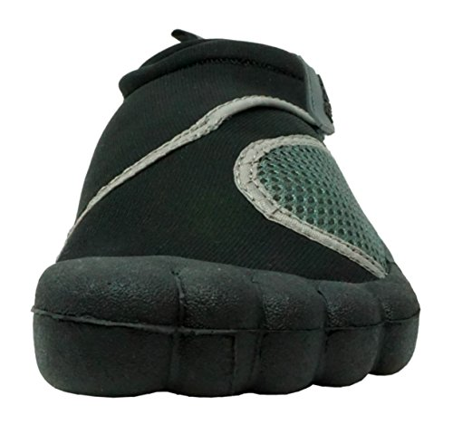 Fresko Mens and Womens Water Shoes With Toes Black B5eRSZ3