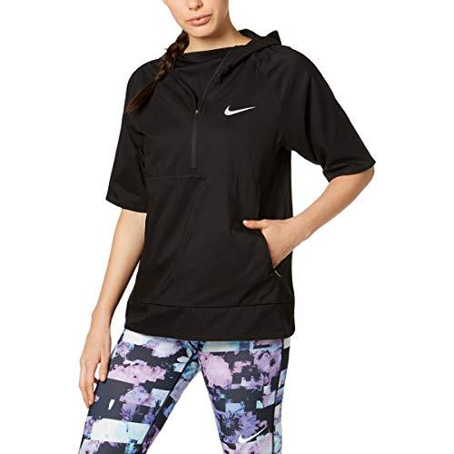 Nike Womens Fall Water Repellant Pullover Coat Black M