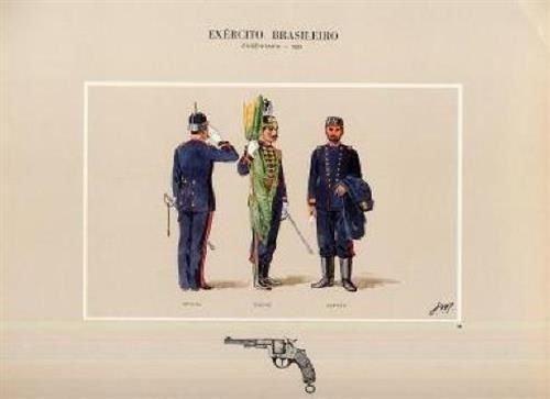 Brazil Army Engenharia 1889 Exercito Brasileiro Print from Generic