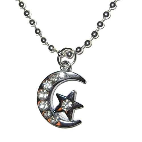 The Moon And The Star Swarovski Crystal Elements Silver Plated Charm 18