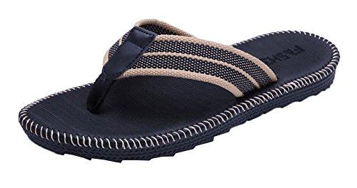 Zapatillas antideslizantes de la playa de los flip-flops del verano de los hombres