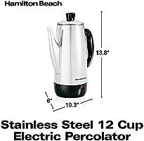 Hamilton Beach Stainless Steel 12 Cup