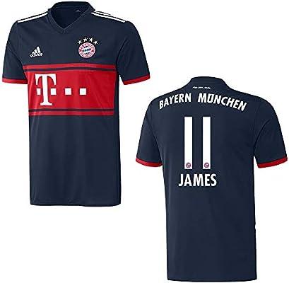 adidas Bayern Trikot Away Herren 2018 James 11