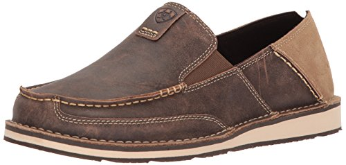 (Ariat Men's Cruiser Slip-on Shoe, Vintage Bomber, 8.5 D US)