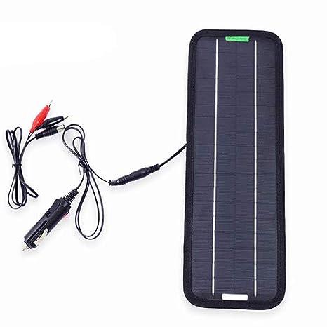 DC portátil panel solar 12V 18V 5W celda batería cargador de ...