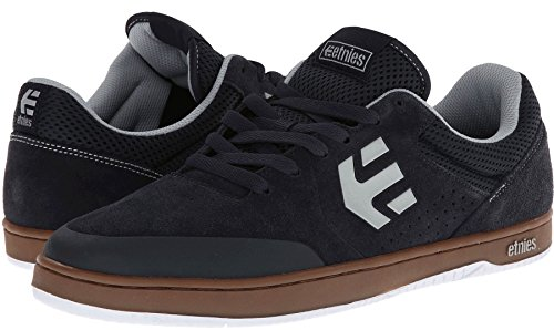 Etnies Marana Navy Grey Gum Suede New Mens Skate Trainers Shoes Boots-9