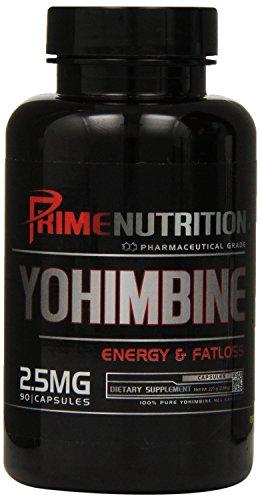 Prime Nutrition Yohimbine Capsules, 90 Count