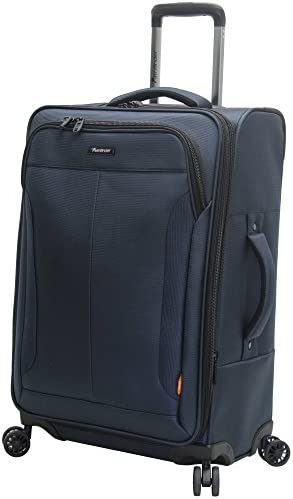 Pathfinder Luggage PX-10 Large 28 Expandable Suitcase With Spinner Wheels 28in, Navy