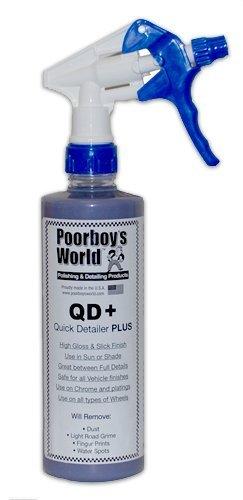 Poorboys pb-qd16 QD + de cera en spray, 16 oz/473 ml 16oz/473ml
