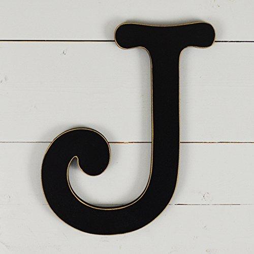 11.5'' Typewriter Wall Decor Letter ''J''- black