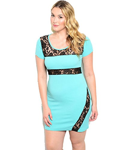 Plus-Size-Mint-To-Be-Dress
