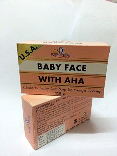 1-BAR-USA-BABY-FACE-WITH-AHA-ORIGINAL-FORMULA-SOAP-110g-USASLR