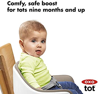 Oxo Tot Nest Booster Seat With Removable Cushion Taupe Amazon Sg Baby