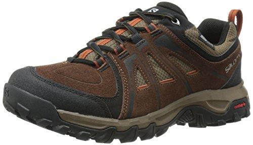 cheap sale very cheap Salomon Men's Evasion CS Waterproof Hiking Shoe Dark Brown Leather clearance best outlet where to buy discounts sale online XnOFOuDV