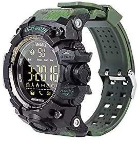 EX16 Camoflauge Estilo militar Reloj deportivo inteligente ...