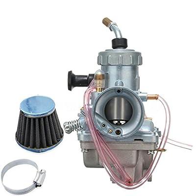 tianfeng Carburetor W/Air Filter For Yamaha BIg Wheel BW200 RT100 RT180: Automotive