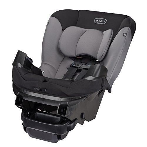 41iqZMqUgbL - Evenflo Sonus Convertible Car Seat, Charcoal Sky