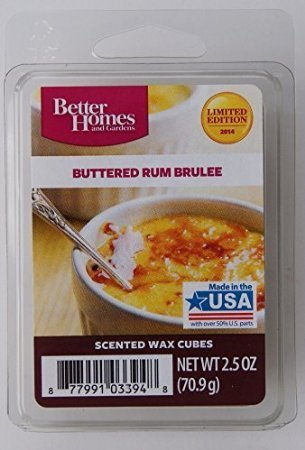 Better Homes and Gardens Buttered Rum Brulee Wax Cubes by Better Homes & Gardens