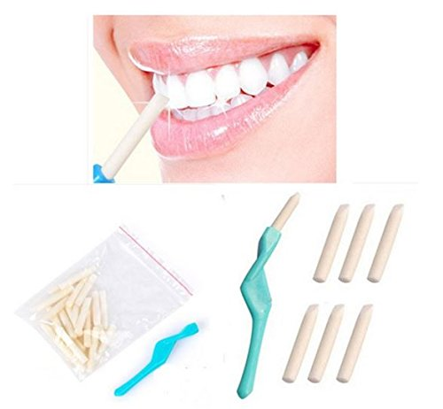 Teeth Whitening Pen Dental Whitener Cleaning Tooth Bleaching With 25Pcs Eraser Brush by STCorps7 (Tattoo Removing Laser compare prices)