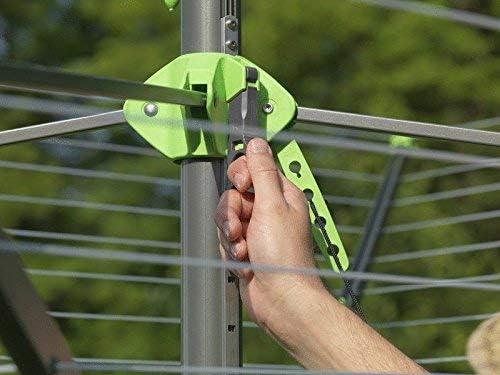 avec v/érin de aut r/ésistant aux intemp/éries et rostbest/ändigem /Étendoir /à linge//S/échoir parapluie Nova Plus Evolution Lift ~ /Étendoir /à linge type parapluie en aluminium de haute qualit/é