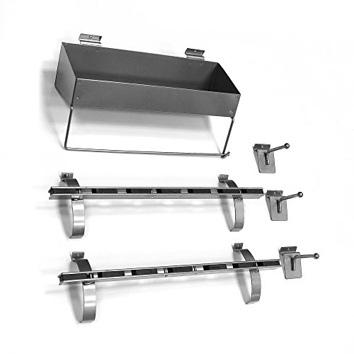Proslat 11010 Organizer Kit Designed for Proslat Slatwall Panels by Proslat