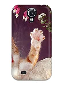 Hot Special Design Back Cat By The Window Phone Case Cover For Galaxy S4 9451218K93212351