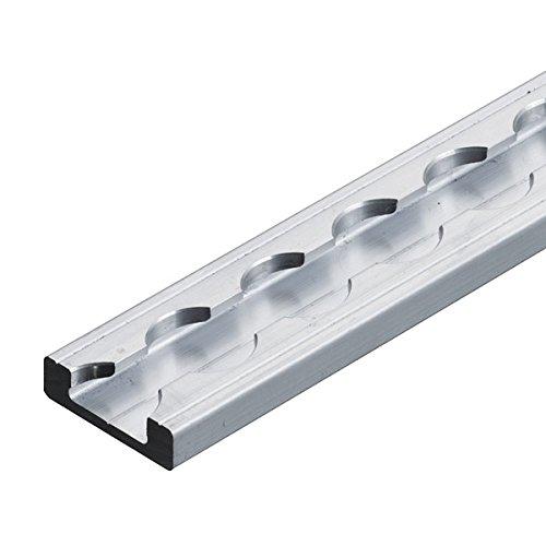 L/änge 1 m zur Ladungssicherung eckige Form versenkbar Made in Germany kuriershop Airlineschiene Vierkantprofil Premium Light