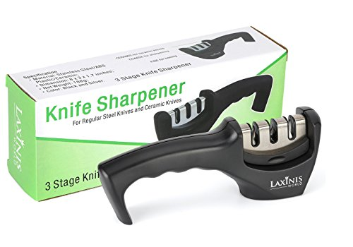 LAXINIS-WORLD-Best-Easy-Knife-Sharpener-Diamond-Coated-Professional-Knife-Sharpening-System-for-all-Kitchen-Knives-Steel-Ceramic-Knives-Blades-3-Rod-Sharpeners-with-Slip-resistant-Rubber-Feet