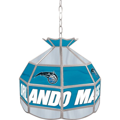 NBA Orlando Magic Tiffany Gameroom Lamp, 16""
