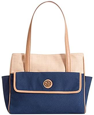 Giani Bernini Handbag, Straw Mother's Day Tote