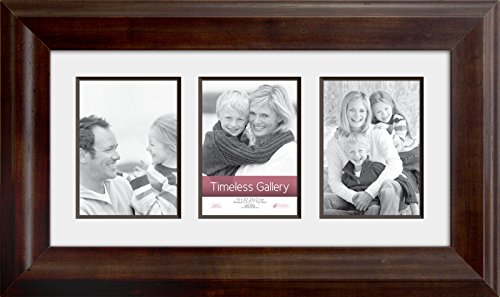 Timeless Frames Elise Matted 3 Opening Collage Picture Frame