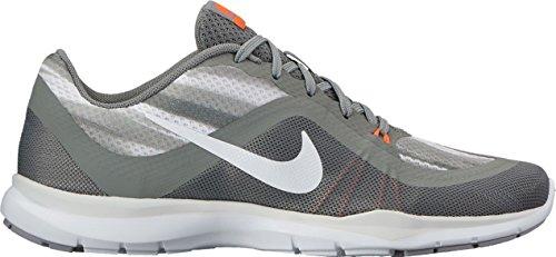 Nike Dames Flex Trainer 6 Print Trainingsschoenen Atletische Sneakers Grijs Getrommeld