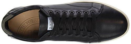 G-Star Raw STANTON LOW - Zapatillas Hombre Negro (Black 990)