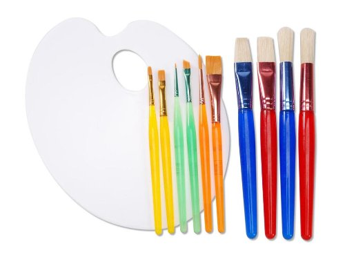 Darice 11 Piece Painting Assortment Palette