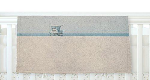 KESS InHouse Laura Evans Tower 17 Coastal Fleece Baby Blanket 40 x 30 [並行輸入品]   B077ZTS62F