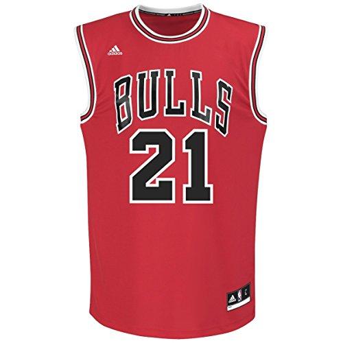 Jimmy Butler Chicago Bulls Adidas NBA Replica Jersey - Red