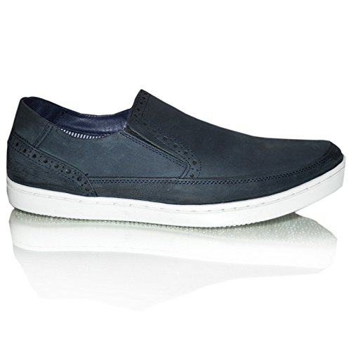 Xelay - Zapatos de Vestir hombre azul marino
