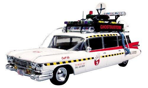 Round 2 Ghostbusters Ecto-1 1:25 Scale Model Kit - Decals Model Kits