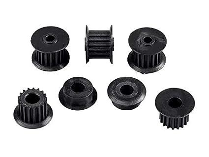 Monoprice MP Mini Gear and Polea Set 2 Correa Gears y 3 Poleas de ...