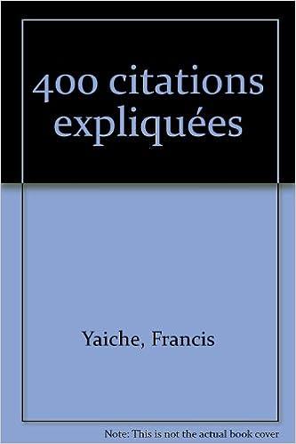 Lire un 400 citations expliquées pdf