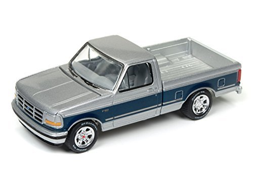 Johnny Lightning JLCG009 Classic Gold 1993 Ford F-150 Version A Silver Poly from Johnny Lightning