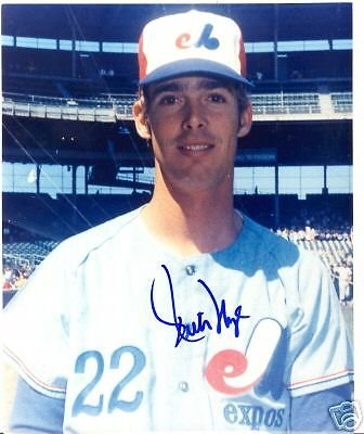 Rich Nye Montreal Expos Signed 8X10 Photo W Coa