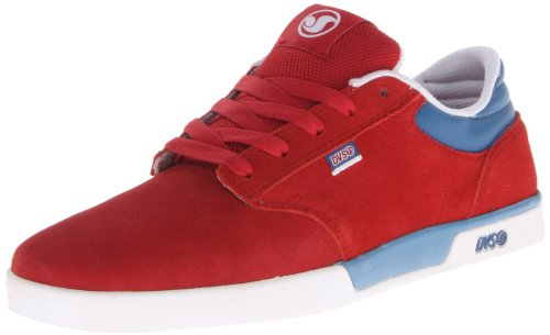 DVS APPAREL Vapor Vapor-U - Zapatos para hombre, color Rojo (Rouge (Red Suede))