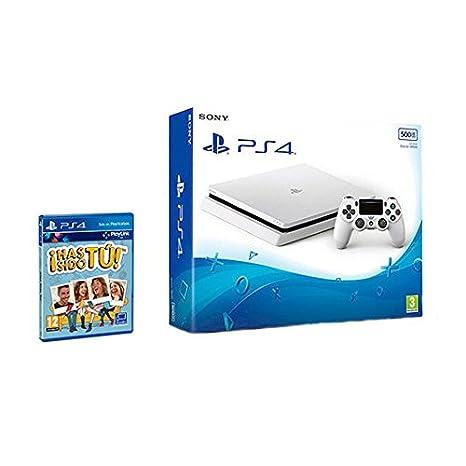 PlayStation 4 (PS4) - Consola De 500 GB, Color Blanco + ...