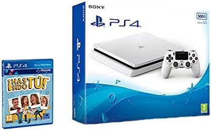 PlayStation 4 (PS4) - Consola De 500 GB, Color Blanco + Voucher ¡Has Sido Tú!: Amazon.es: Videojuegos