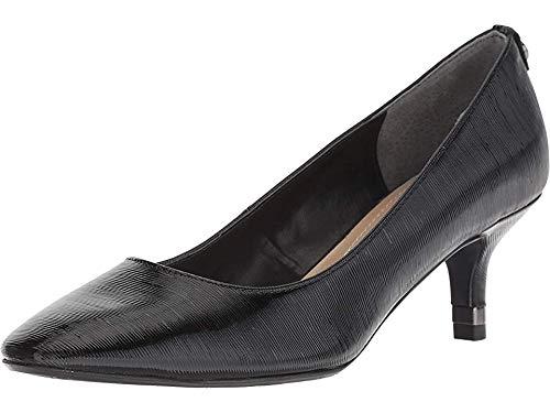 J.Renee Women's Bettz Pump, Black Synthetic, Size 8.0